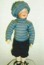 Doll - Boy with Cap - Heubach