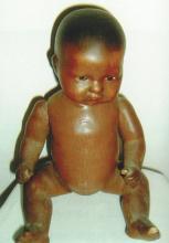 Doll - Naked Black Child - A+M