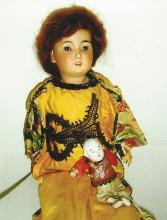 Doll -Chinese Lady with Baby-