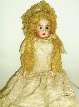 Doll -Girl with curly Hair- S+H