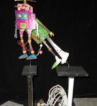 Futuristic character automaton