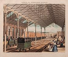 Bury (Thomas Talbot) - Six Coloured Views on the Liverpool and Manchester Railway