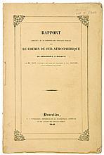 Maus (H.) and Alf.Belpaire. - Rapport...sur le Chemin de Fer Atmostphérique de Kingstown a Dalkey,