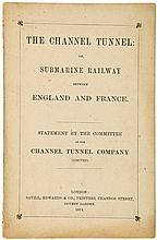Channel Tunnel Company. - The Channel Tunnel: or, submarine Railway between England and France,