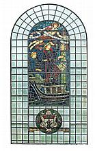 Henry Holiday , a set of four stained glass windows for the Institute of...