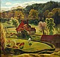 Sydney W. Carline (1888-1929), A spring landscape