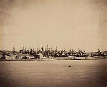 Gustave Le Gray (1820-1884) - Panorama du Port de Sète, 1857