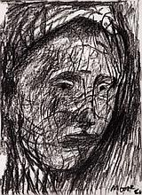 Henry Moore (1898-1986) - Head of a Girl Section Line (C.602)