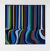Ian Davenport (b.1966) - Colourplan Series - Royal Blue