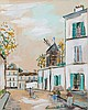 Maurice Utrillo (1883-1955) - La Petite Rue de Montmartre, Maurice Utrillo, £240