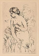 Pierre-Auguste Renoir (1841-1919) - Baigneuse Debout