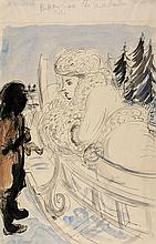 Anthony Gross (1905-1984) - The Snow Maiden