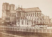 Édouard Denis Baldus (1813-1889) - Cathédrale Notre-Dame de Paris, 1852-1853