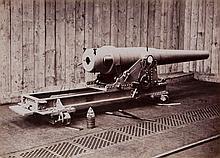 Alfred Krupp (1812-1887) - 15cm Kanone in Batterie-Laffete,1873