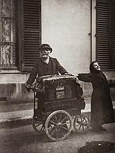 Eugène Atget (1857-1927) - Organ Grinder, 1898