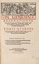 Luther (Martin) - In Genesin Enarrationum,
