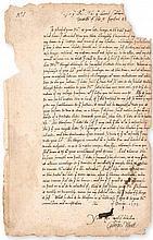 Copy letter signed