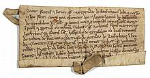 Charter, grant by Matilda de Stanforham to the Knights Hospitallers