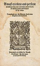 translated by Hollybush, first edition in English, black letter