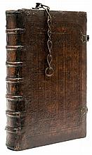 Chained Binding.- Ancharano (Petrus de) - Repertorium aureum,