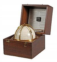 An English 7 inch celestial 'star' globe , Kelvin