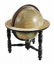 A 14 inch terrestrial table globe, George Philip