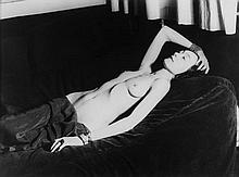 ARR Man Ray (1890-1976). Nusch, 1928. Gelatin silver print, printed 2007, Man Ray Trust label affix