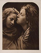 Julia Margaret Cameron (1815-1879). The Kiss of Peace, 1869. Photogravure, printed later, 22 x 17cm