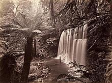 John Watt Beattie (1859-1930). Views from Tasmania, ca. 1890. 37 albumen prints, the majority title