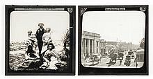 Herbert Deveril (1840-1911). New Zealand, ca. 1890. Approximately 70 glass positive slides, titled