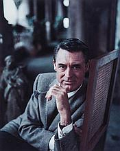 Milton H. Greene (1922-1985). Cary Grant in New York City, 1958. Inkjet print, printed later, signed