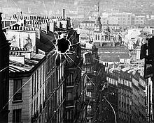 ARR Andre Kertesz (1894-1985). Broken Plate, Paris, 1929. Gelatin silver print, printed later, sign