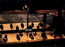 Ernst Haas (1921-1986). Shoes in Store, NYC, 1952. Chromogenic print, printed later, signed by Alex