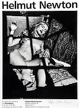 ARR Helmut Newton (1920-2004) . Untitled, 1980s. Offset lithographic poster, printed 1988, signed in