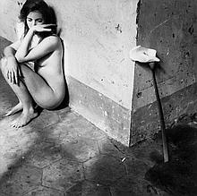 Francesca Woodman (1958-1981). Untitled, Rome, 1977-78. Gelatin silver print, printed later, signed