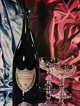 Pierre Taponier (1893-1968). Advertisment for Dom Perignon Champagne, 1950s. Dye-transfer print, an