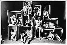 Will McBride (b.1931). The Too-Full House, Munich, 1968. Gelatin silver print, printed later, signe