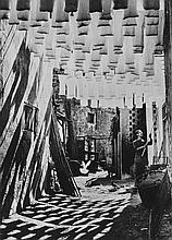 ARR George Rodger (1908-1995). The Wool Suq in Tunis, 1958. Platinum print, printed 1990, signed, d