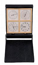 Asprey, a multi function travelling clock