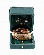Boucheron, Reflet, ref. 77351, a lady's 18 carat gold bracelet watch, no