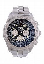 Breitling, B2, ref. A42362, a stainless steel bracelet wristwatch, no