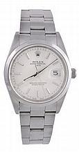 Rolex, Oyster Perpetual Date, ref. 15200, a stainless steel bracelet wristwatch