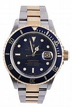 Rolex, Oyster Perpetual Submariner, ref. 16615