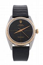 Rolex, Oyster Perpetual, ref. 1008, a two colour wristwatch, circa 1960