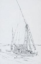 Edward William Cooke (1811-1880) - The Dahabéeh Queen-Victoria,