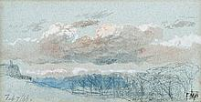 Edmund Morison Wimperis (1835-1900) - A February sky (February 7th 1866),