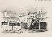 Thomas Pennethorne (1799-1819) - Farmyard scene in Marylebone Park