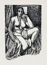 John Buckland Wright (1897-1954) - Nude figure,