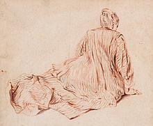 After Jean-Antoine Watteau - Figure studies,