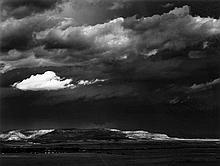 Ansel Adams (1902-1984) - The Edge of Great Plains, near Cimarron, New Mexico, 1961
